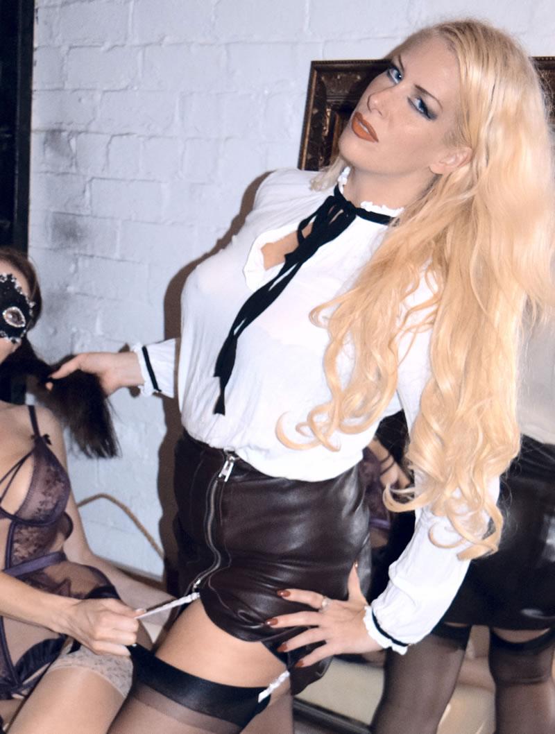 Huddersfield Mistress Helena with slave girl