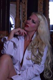 Huddersfield Mistress Helena white mans shirt