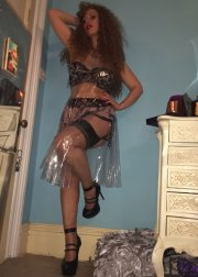 Huddersfield Mistress Red Hair in nylons