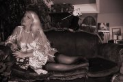 Huddersfield Mistresses Helena Nylons and Lace bw