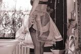 Huddersfield Mistress in ffsh nylons sensual Dominatrix bw